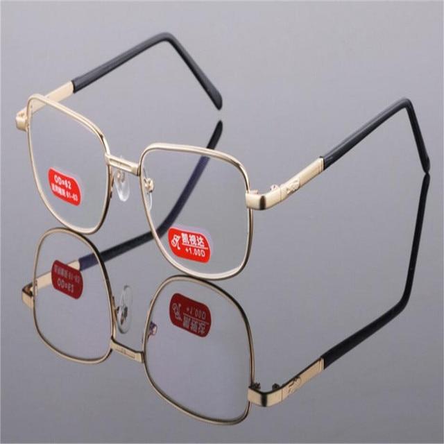 04fd0500c36 BINYEAE Business Men Fashion Alloy Anti-fatigue Prescription Lens Gold  Goggle Optical Brand Design Presbyopia Reading Eyeglasses