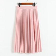 2016 весной все матч шифон юбка талии раза тонкий юбка в складку юбка Отдел лето тонкий юбка