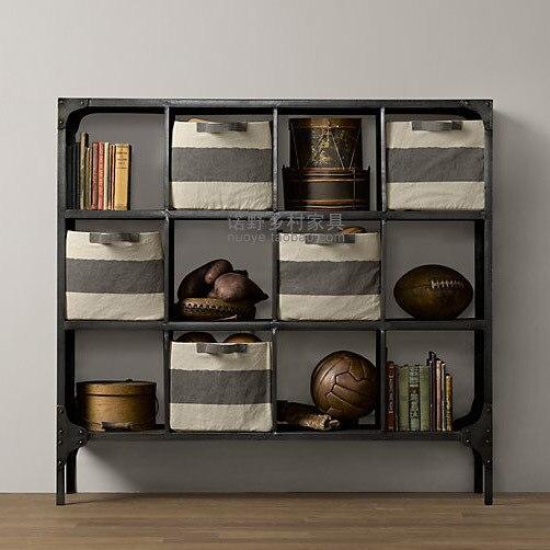 American Loft Rural Industry File Cabinet Cabinet Display Cabinet