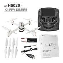 H502S Hubsan RC Quadcopter 5.8G FPV GPS Altitud RC Drone con 720 P HD Cámara de Una Tecla de Retorno Headless Modo Auto posicionamiento