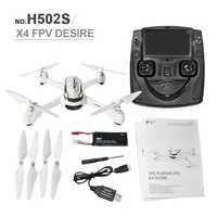 Hubsan X4 H502S RC מסוקי 5.8G בזמן אמת שידור FPV GPS מצב גובה Quadcopter עם 720P מצלמה RC Drone Dron צעצועים
