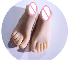 silicone false foot bones within the inner end move, feet, shoes design sexy adult sex with vigina