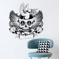 Diy Halloween Spirit Festival Wall Stickers Pattern Carved For Home Decor Decoration Pcx