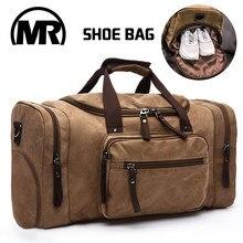 39d9c48723ec MARKROYAL для мужчин Дорожная сумка с обувсклад Холст сумка ночь высокое  ёмкость вещевой мешок для подростков