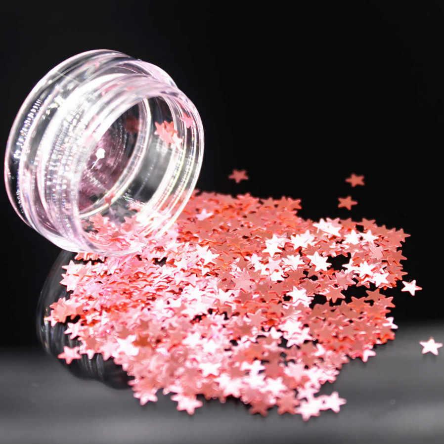 1 piezas estrella Arco Iris escalas Gel esmalte de todos para manicura Semi permanente Vernis abrigo LED UV Gel barniz remoja las uñas Hn #04