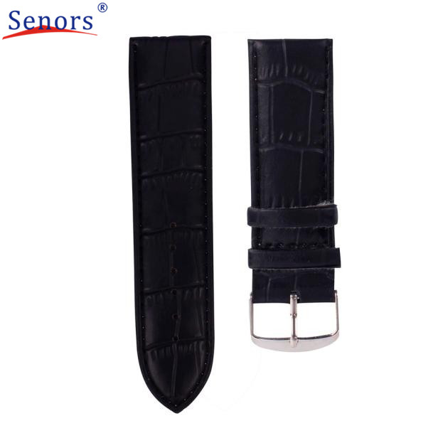 24mm High Quality Soft Sweatband Leather Strap Steel Buckle Wrist Watch Band  Nov16 2016  send in 2 days high quality soft sweatband leather strap steel buckle wrist watch band 3522 brand new luxury free shipping