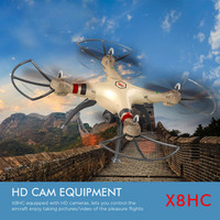 2016 Tops Syma Rc Quadcopter X8HC Drone With 2 0MP HD Camera 2 4G 4CH 6