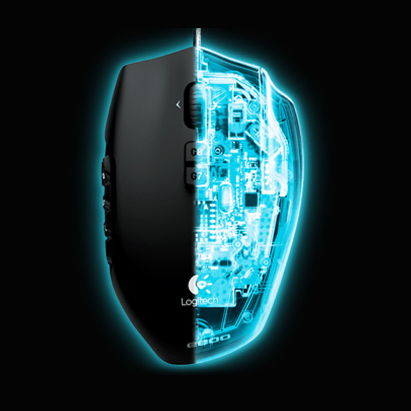 Image 5 - Logitech G600 MMO GAMING MOUSEComplete control in your favorite MMOs-in Mice from Computer & Office