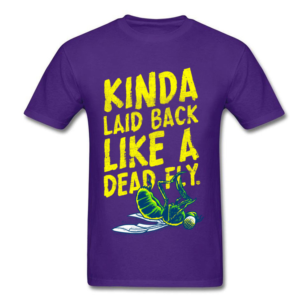 Crazy Laid Back Dead Fly T-Shirt T Shirts