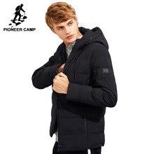 183b77c3893 (Отправка из RU) Пионерский лагерь новая толстая зимняя куртка мужская  брендовая одежда с капюшоном теплая куртка мужская наивысшего качества чер.