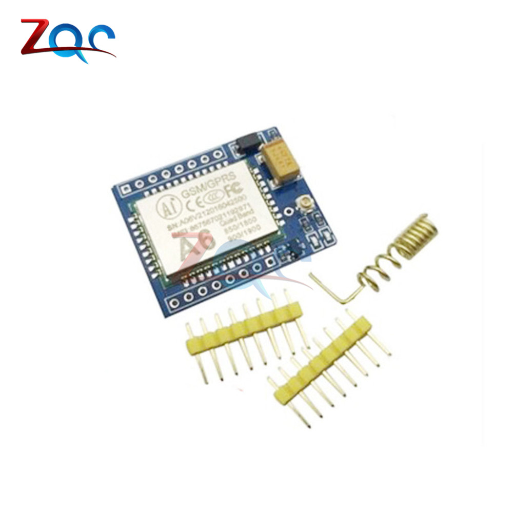 Mini A6 GA6 GPRS GSM Kit Wireless Extension Module Board Quad-band Antenna Tested Worldwide Store Replace SIM800L for Arduino 1pcs sim808 wireless board gps gsm gprs bluetooth module replace sim908 ck