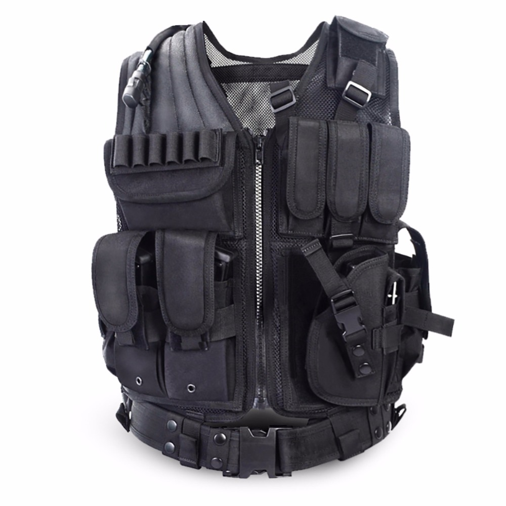 Multi-functional Tactical Vest CS Field Vest Outdoor Military Equipment Supplies Lightweight Breathable Tactical Combat Vest