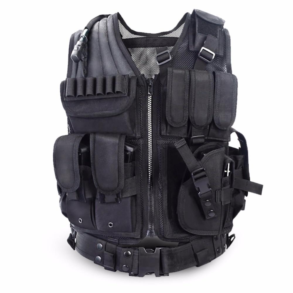 Multi-functional Tactical Vest CS Field Vest Outdoor Military Equipment Supplies Lightweight Breathable Tactical Combat Vest