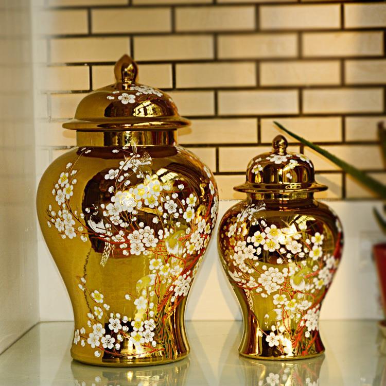 Jingdezhen-ceramic-ginger-jar-Antique-Porcelain-temple-jar-wholesale-vase-ceramic-jars-