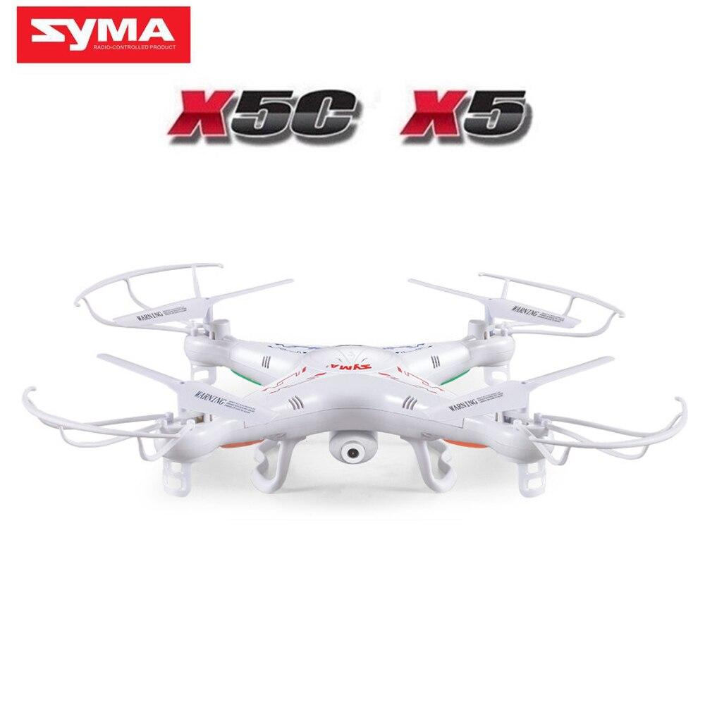 100% ursprüngliche SYMA X5C (Upgrade-Version) RC Drone Mit 2MP HD Kamera 6-achsen RC Quadcopter Hubschrauber X5 Eders Ohne Kamera