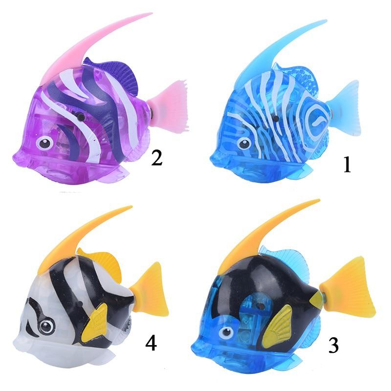 Home Luminous Electric Fish Robots Swimming Electronic