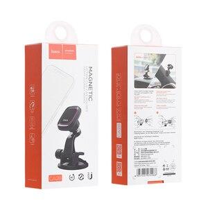 Image 5 - HOCO cam montaj araba telefon tutucu Samsung S9 S8 360 pano araba manyetik tutucu iPhone Xs için telefon araba standı
