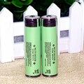 Nuevo 2 unids original protegido 18650 3.7 v 3400 mah batería recargable para panasonic ncr18650b pilas uso industrial