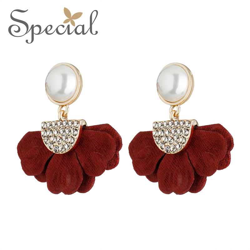 Special Europe and the United States multi color earrings earrings and earrings are a garden in Stud Earrings from Jewelry Accessories