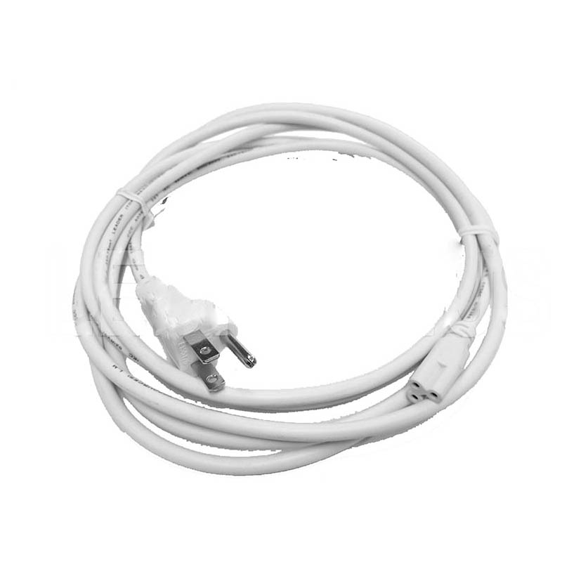 200pcslot 0.5M 3Pin  T5 LED Lamp Tube  Connectors with US Plug Extend Cable White Color by DHL