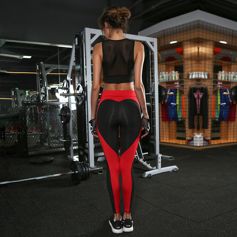 3 colors red pink white ass heart shape plus size brazilian style yoga pants sports wear activewear gear outfits fitness yoga leggings workout pants (8)