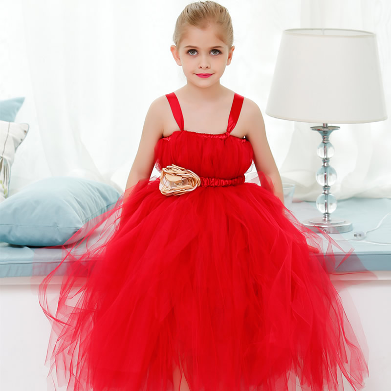 2018 Top quality And noble Flower Girl Dresses Calcined flower Flower 2-12Year Pretty Draped Ball Gown Evening Dress Kids Prom 2018 top quality and noble flower girl dresses calcined flower flower 2 12year pretty draped ball gown evening dress kids prom