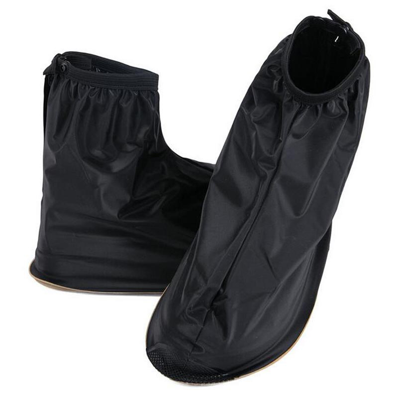 Waterproof Rain Reusable Shoes Covers, All Seasons slip-tahan Zipper - Aksesoris sepatu - Foto 4