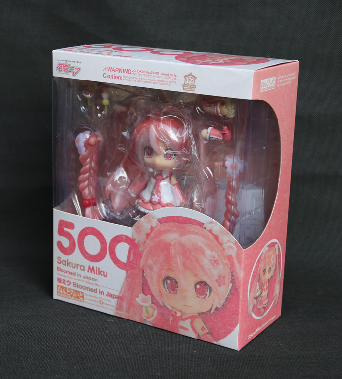 Hot Vocaloid Idol Sakura Hatsune Miku Bloomed In Japan 500 # 10CM Action Figure
