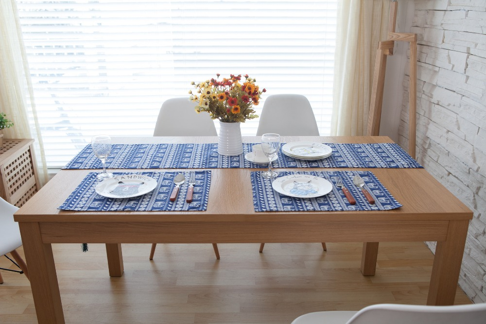 US $6.0 |Modern Table runner With Tassel Wedding Hotel Banquet Party Home  Luxury Print Cotton Linen Dining Room Table Runner Decoration-in Table ...