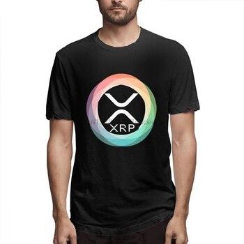 ¡Novedad! Camiseta de manga corta de verano personalizada con S-6XL de criptomoneda de Ripple Coin XRP Interledger