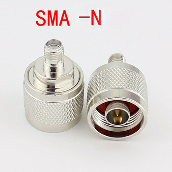 20pcs N Connector Male Turn SMA Female Adapter SMA Female TO N Male L16 Conversion Jack