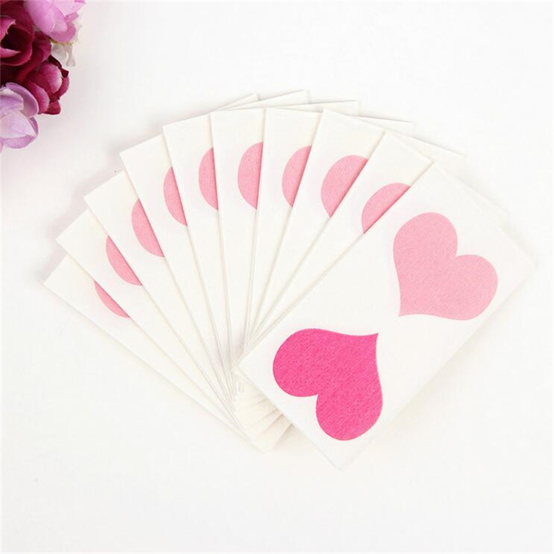 4 x Vintage PAPER Table NAPKINS for Decoupage HEARTS B Craft Party