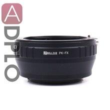PK FX All in metallo Adattatore Adattatori per Obiettivi Fotografici Vestito Per Pentax PK Lens per Fujifilm X Mount Macchina Fotografica X T1IR X A2 X T1 X A1 x E2 X M1 X E1