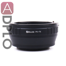 PK FX adaptador de lente de metal adaptador terno para pentax pk lente para fujifilm x montagem câmera X T1IR X A2 X T1 X A1 X E2 X M1 X E1