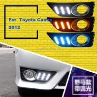 smRKE Car Light Fog Lights Daytime Running Lights LED Light Bar For 2012 Toyota Camry