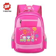 2017 Tigenru Милый Мультфильм школьные сумки для подростков bookbag школа рюкзаки для девушки парни школьный рюкзаки для школы(China (Mainland))