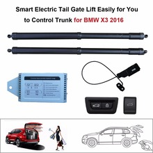 Smart Auto Electric Tail Gate Lift for BMW X3 2016 Control Set Height Avoid Pinch smart auto electric tail gate lift for hyundai ix35 control by remote drive seat tail gate button set height avoid pinch