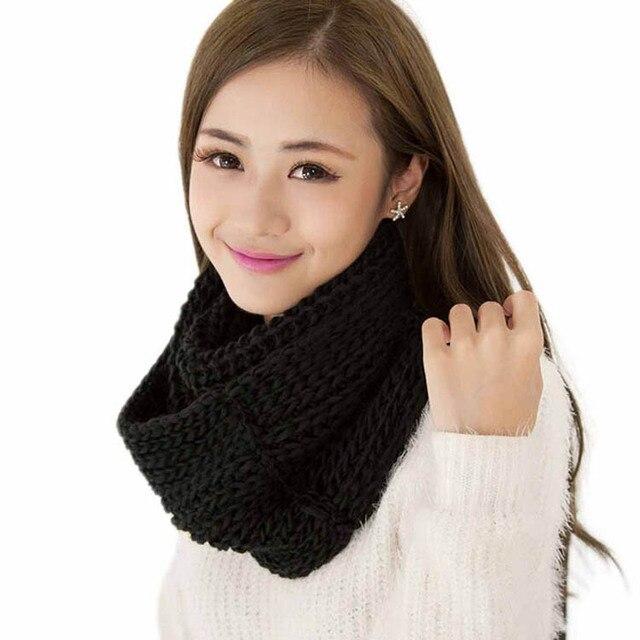 1pc 2017 Hot Fashion Women Men Winter Warm Infinity Circle Soft
