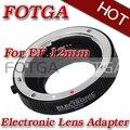 Monte plata anillo de metal af enfoque automático tubo de extensión macro para canon ef ef-s