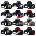 2017 Marca Gorras de Béisbol de Metal Mulisha Vansed de Moda del Cráneo de Los Hombres Zombie hueso Casquette Snapback Nuevo Hip Hop Sombreros de Las Mujeres Plana sombrero