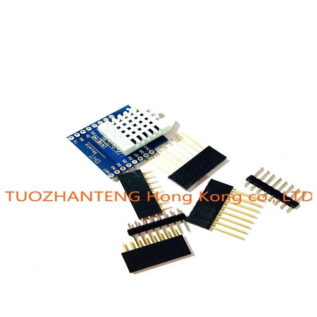 DHT Pro Shield for  D1 mini DHT22 Single-bus digital temperature and humidity sensor module sensor