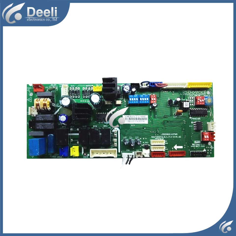 95% new good working for air conditioning Computer board MDV-D22T2.D.1.7.1-1 control board  95% new good working for midea air conditioning computer board mdv d22t2 d 1 4 1 mdv d22t2 board