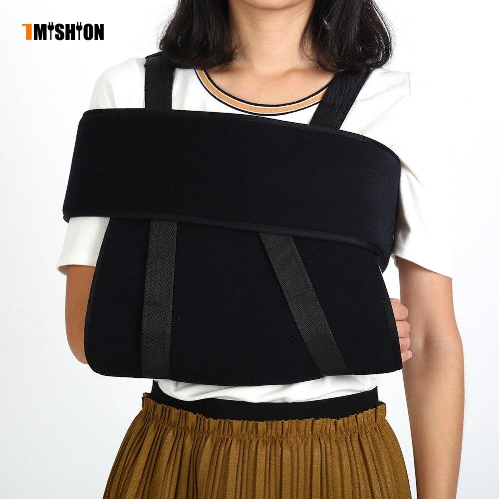 Detalle Comentarios Preguntas sobre Soporte de soporte de codo eslinga de  hombro soporte de codo inmovilizador soporte de brazo roto fractura correa  de ... 37ef5009bcf7