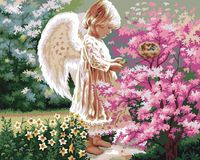 Beautiful Angel S Sympathy And Affection Painting By Numbers Painting For Artwork Painting Unframed 40x50CM For