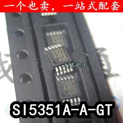 Free Shipping 5PCS/LOT SI5351A SI5351 5331 SI5351A-B-GTR SI5351A-B MSOP10 free shipping 1pcs svi3102b svi3102 b svi 3102 b
