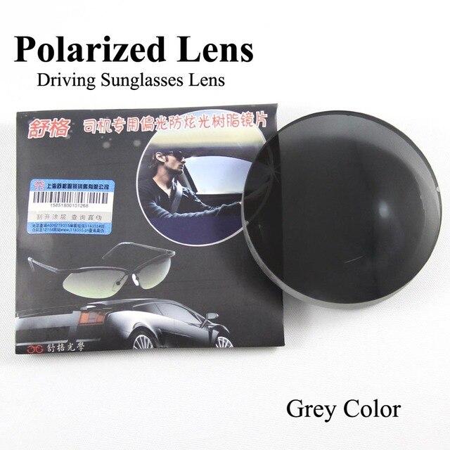 Оптический Поляризованные Линзы 1.56 Индекс Серый Смола Линзы HC Поляризованные Очки Линзы Очки Солнцезащитные Очки Близорукость Пресбиопии Очки