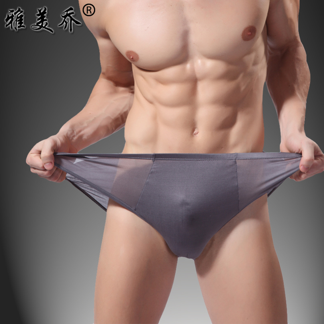 Special offer  silk washita river male panties silk antibiotic skin-friendly breathable  type mid waist triangle panties