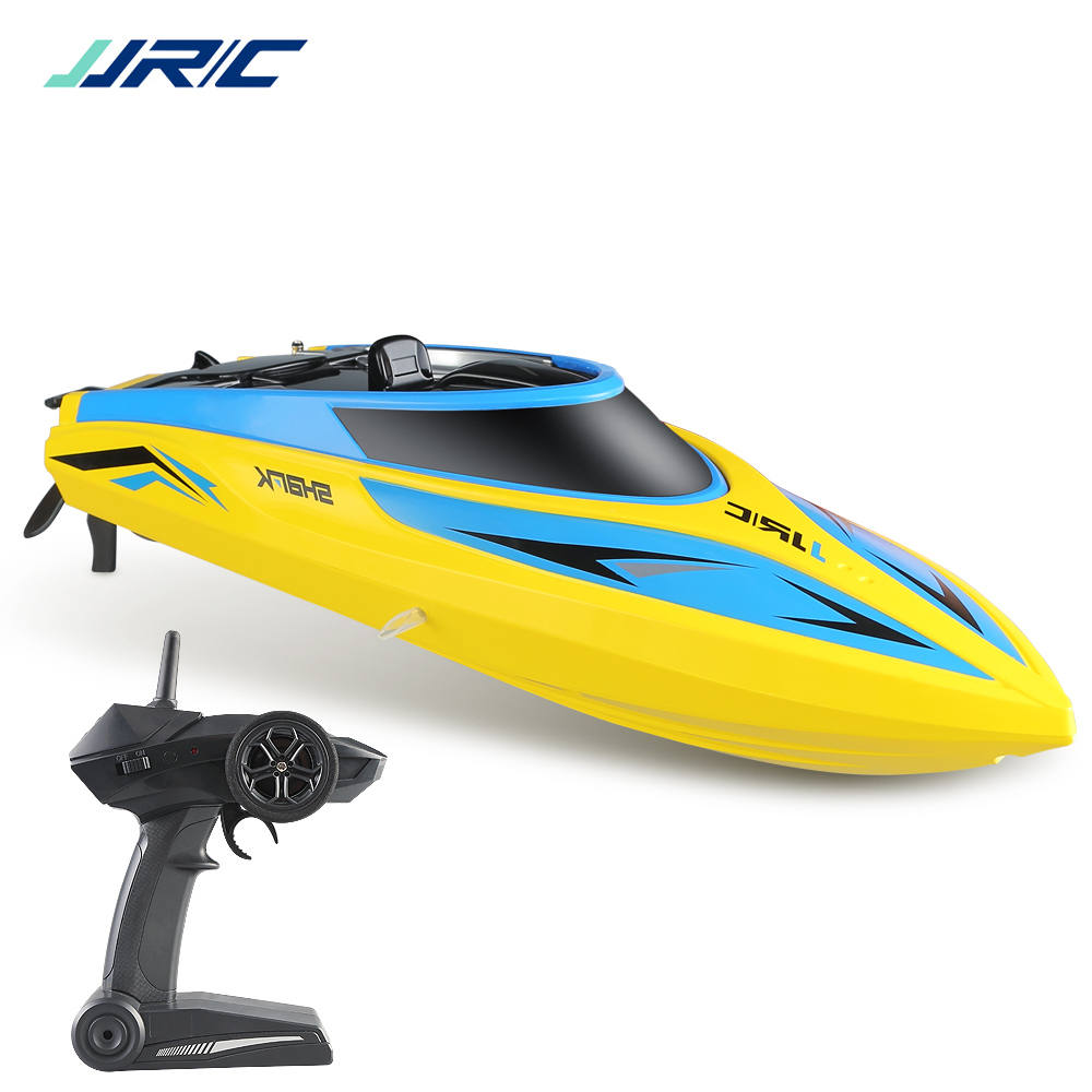 Good Boat JJRC S2 High Speed RC Boat 2.4GHz 4 Channel 25 KM/H Racing Remote Control Boat RC Toys for Children(JJRC S20)