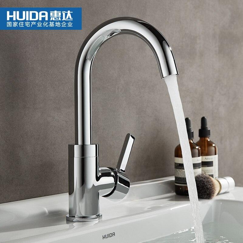 Hole Faucet Sink Basin Bathroom Wash Lavatory Hot Plumbing Home Kitchen