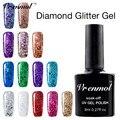 Vrenmol Permanen Glitter Diamond Shining Colorful Gel Varnishes Soak Off Starry Shimmer Sequins Led UV Gel Nail Polish